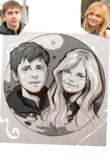 Заказать портрет на годовщину свадьбы в Томске