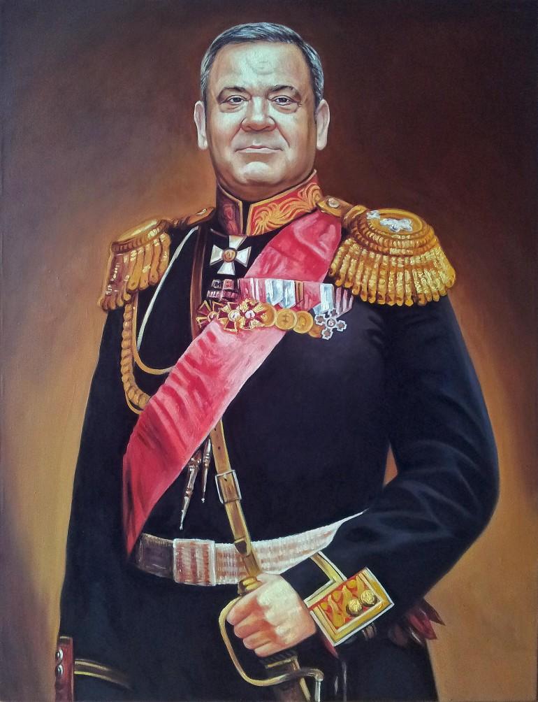 Где заказать портрет маслом в Томске?
