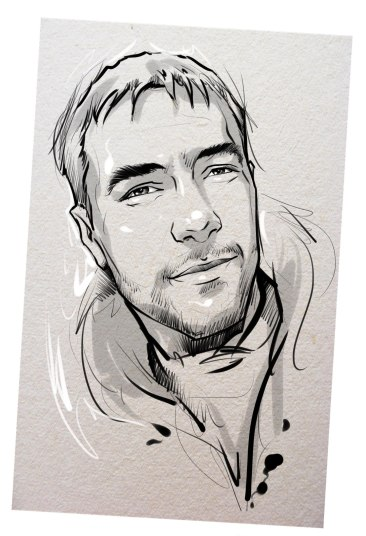 Портрет карандашом любимому мужу в Томске…