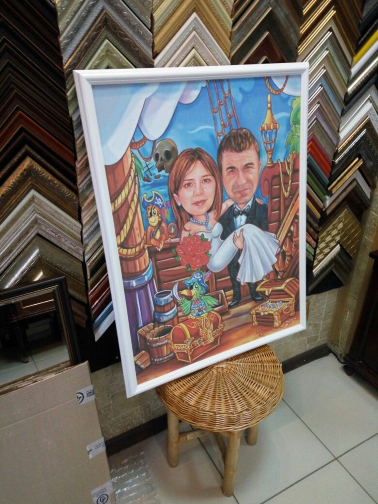 портрет шарж на заказ в томске