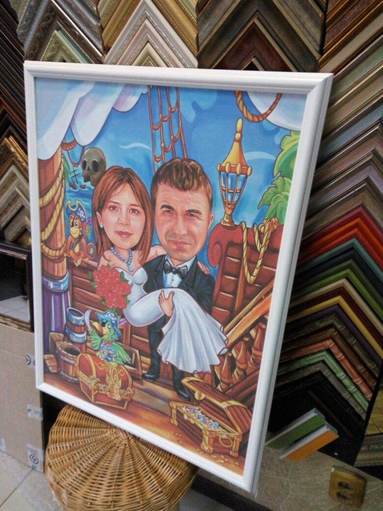шарж по фото на заказ в томске