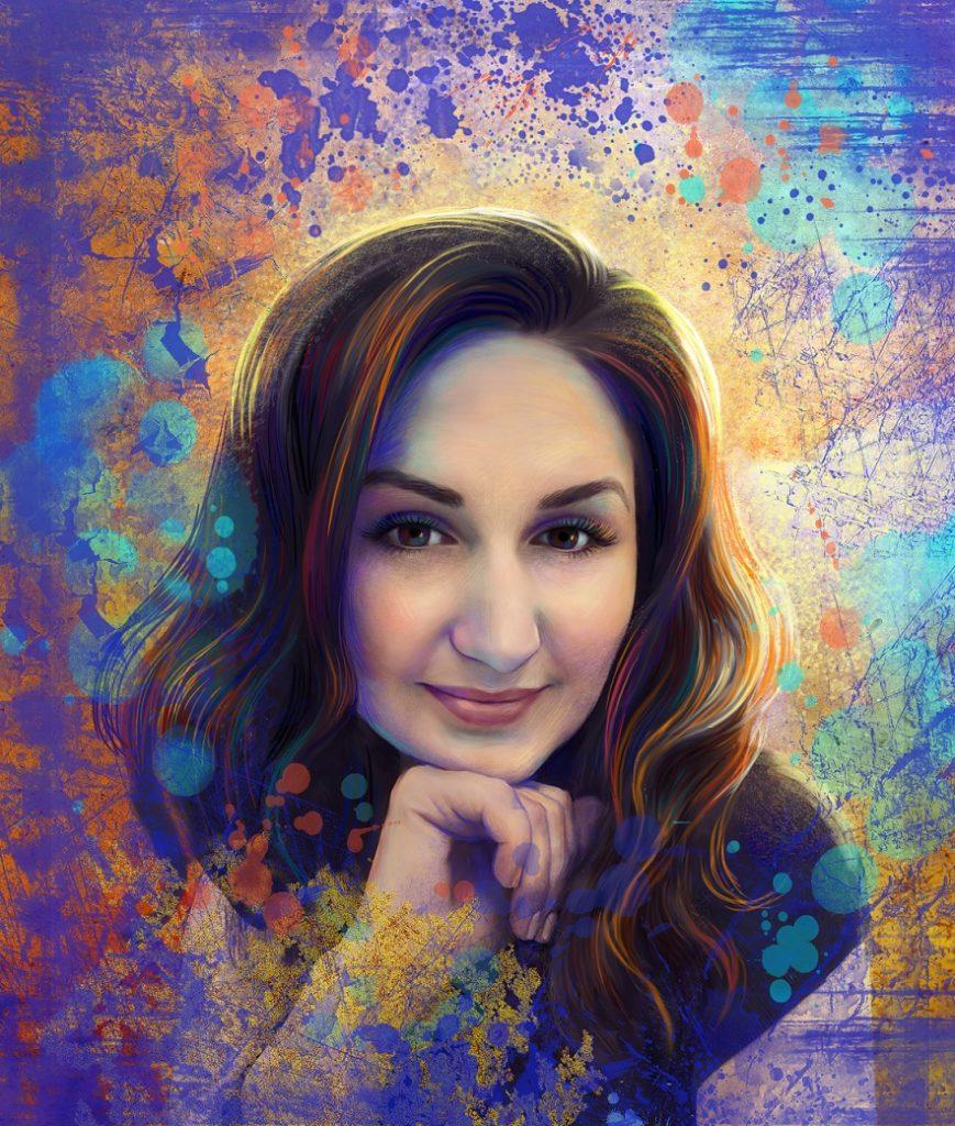 арт портрет на заказ
