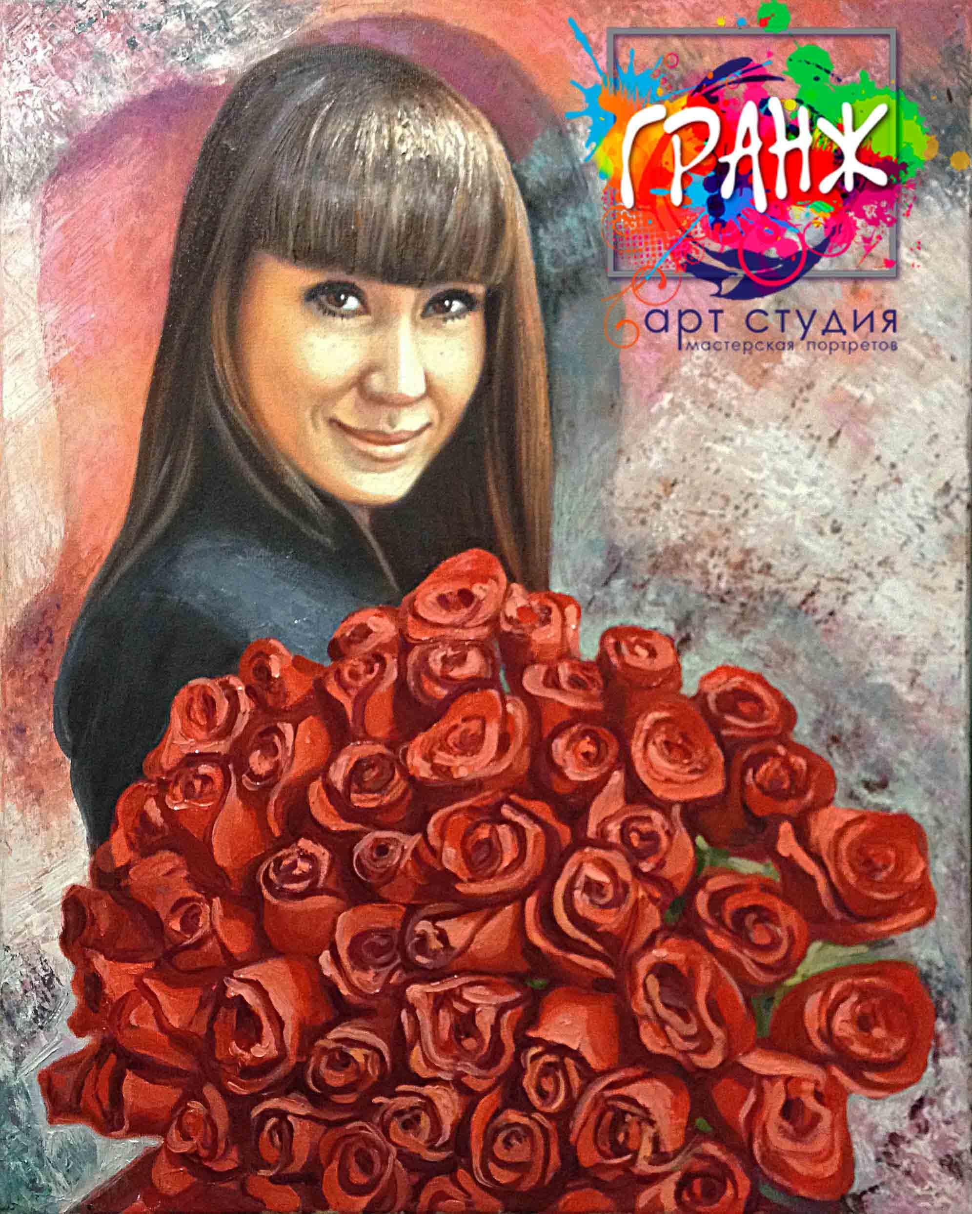 Заказать портрет маслом по фотографии в Томске