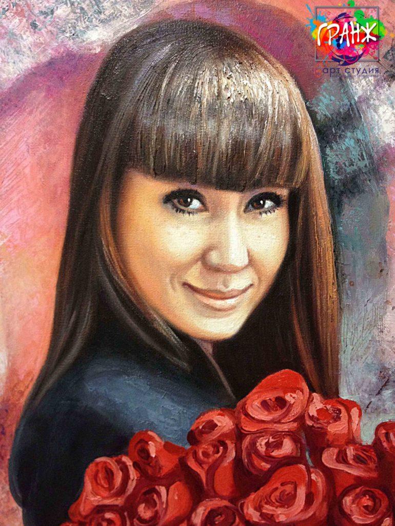 Заказать портрет маслом в Томске