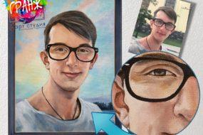 Портретная живопись маслом, купить в Томске